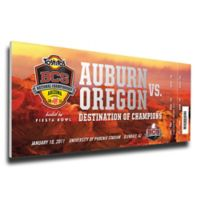NCAA Auburn University Sports 13-Inch x 33-Inch Framed Wall Art