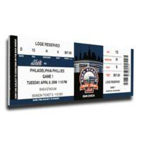 MLB New York Mets Sports 12-Inch x 32-Inch Framed Wall Art