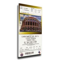 MLB New York Mets Sports 12-Inch x 33-Inch Framed Wall Art