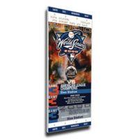 MLB New York Mets Sports 9-Inch x 32-Inch Framed Wall Art
