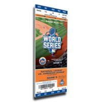 MLB New York Mets Sports 14-Inch x 33-Inch Framed Wall Art