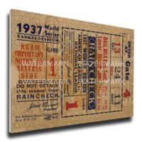 MLB New York Yankees Sports 12-Inch x 32-Inch Framed Wall Art