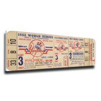 MLB New York Yankees Sports 10-Inch x 34-Inch Framed Wall Art