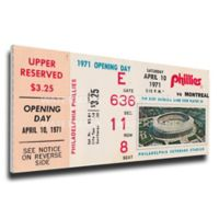 MLB Philadelphia Philles Sports 13-Inch x 32-Inch Framed Wall Art