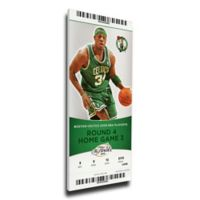 NBA Boston Celtics Sports 14-Inch x 33-Inch Framed Wall Art