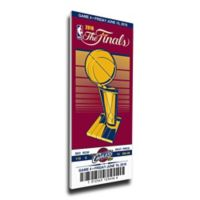 NBA Cleveland Cavaliers Sports 13-Inch x 32-Inch Framed Wall Art