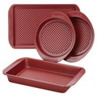 Farberware® Colorvive™ 4-Piece Nonstick Bakeware Set in Red