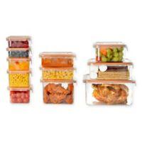 Wellslock® 22-Piece Food Storage Container Set in Orange