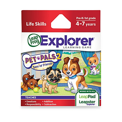 LeapFrog® Explorer Pet Pals 2: Best of Friends Learning Game