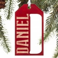 All About Family Gift Tag Ornament