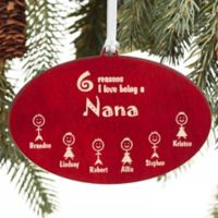 Reasons Why Engraved Christmas Ornament in Red