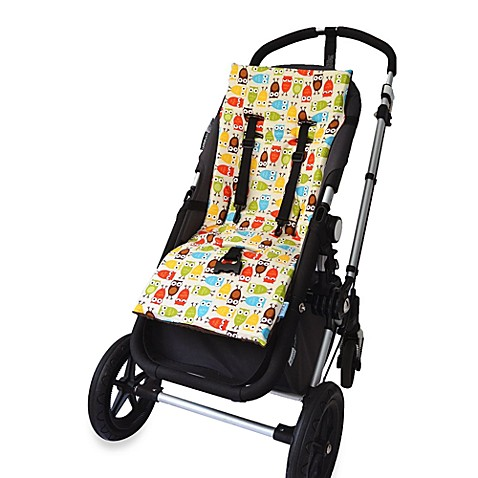 Tivoli Couture NuComfort Memory Foam Stroller Pad & Seat Liner in Hooty Hoot
