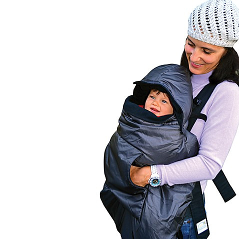 Tivoli Couture Mommy's Hug 3-in-1 Baby Carrier Weather Cover in Grey
