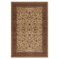 Concord Global Trading Jewel Kashan 2-Foot 7-Inch x 5-Foot Rug in Ivory