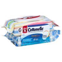 Cottonelle® 84-Count Flushable Wipes