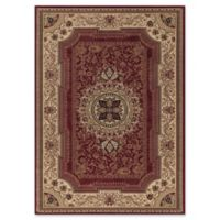 Concord Global Chateau 2-Foot 7-Inch x 4-Foot 1-Inch Rug in Red