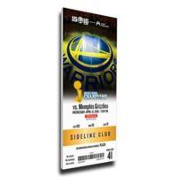 NBA Golden State Warriors Sports 13-Inch x 32-Inch Framed Wall Art