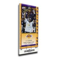 NBA Los Angeles Lakers Sports 14-Inch x 33-Inch Framed Wall Art