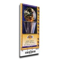 NBA Los Angeles Lakers Sports 14-Inch x 31-Inch Framed Wall Art