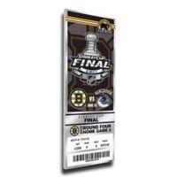 NHL Boston Bruins Sports 10-Inch x 32-Inch Framed Wall Art
