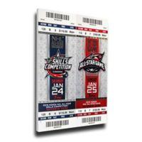 NHL Columbus Blue Jackets Sports 12-Inch x 32-Inch Framed Wall Art