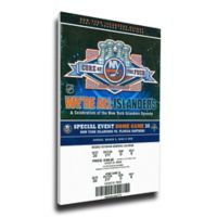 NHL New York Islanders Sports 11-Inch x 34-Inch Framed Wall Art