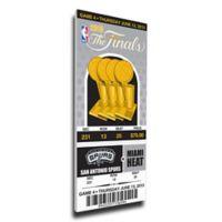 NBA San Antonio Spurs Sports 12-Inch x 32-Inch Framed Wall Art