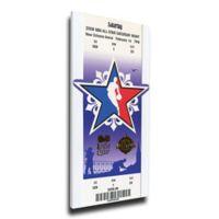 NBA New Orleans Pelicans Sports 15-Inch x 31-Inch Framed Wall Art