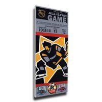 NHL Boston Bruins Sports 12-Inch x 32-Inch Framed Wall Art
