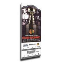 NHL Chicago Blackhawks Sports 13-Inch x 33-Inch Framed Wall Art