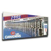 NHL Montreal Canadiens Sports 14-Inch x 31-Inch Framed Wall Art