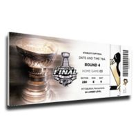 NHL Pittsburgh Penguins Sports 14-Inch x 33-Inch Framed Wall Art
