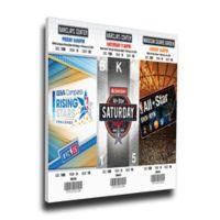 NBA New York Knicks Sports 14-Inch x 32-Inch Framed Wall Art