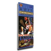 NBA New York Knicks Sports 15-Inch x 30-Inch Framed Wall Art