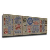 NBA New Jersey Nets Sports 15-Inch x 30-Inch Framed Wall Art