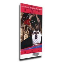 NBA Philadelphia 76ers Sports 15-Inch x 31-Inch Framed Wall Art