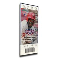 MLB Philadelphia Philles Sports 13-Inch x 33-Inch Framed Wall Art