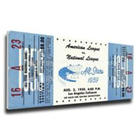 MLB Los Angeles Dodgers Sports 14-Inch x 33-Inch Framed Wall Art