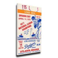 MLB Los Angeles Dodgers Sports 12-Inch x 32-Inch Framed Wall Art