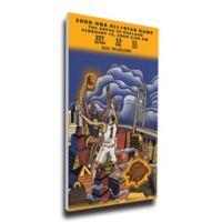 NBA Golden State Warriors Sports 13-Inch x 33-Inch Framed Wall Art
