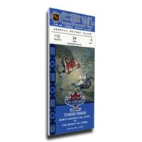 NHL Vancouver Canucks Sports 12-Inch x 32-Inch Framed Wall Art