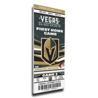 NHL Vegas Golden Knights Sports 14-Inch x 33-Inch Framed Wall Art