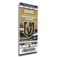 NHL Vegas Golden Knights Sports 14-Inch x 33-Inch Framed Wall Art