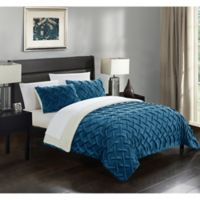 Chic Home Thirsa 3-Piece Queen Comforter Set in Teal