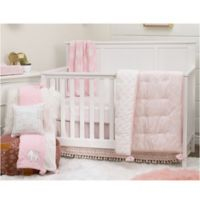NoJo Serendipity 4-Piece Crib Bedding Set in Pink