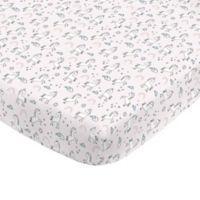 NoJo® Mini Crib Sheet in Pink