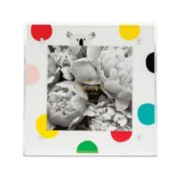 Kate Spade® New York Polka Dot 4-Inch x 4-Inch Baby Picture Frame in Acrylic