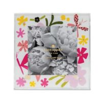 Kate Spade® New York Floral 4-Inch x 4-Inch Baby Picture Frame in Acrylic