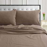 Tribeca Living® 170-Gsm Solid And Printed Sheets And Pillow Pairs 170 Thread Count King Sheet Se