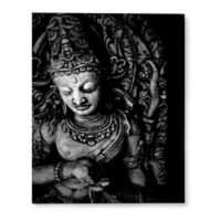 Buddha 14-Inch x 18-Inch Canvas Wall Art